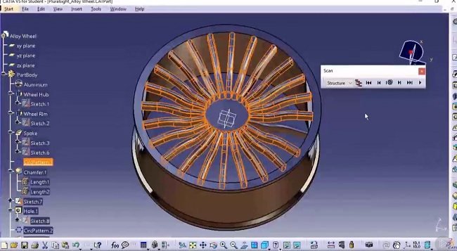 CATIA V5 Essentials - Revolve and Sweeps