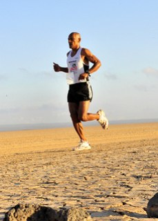 Guardsman places second in 15K run through Grand Bara Desert, Djibouti