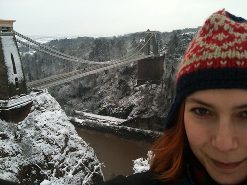 Me at the Suspension Bridge