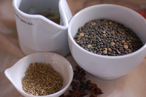 Prep for anise-scented lentil salad