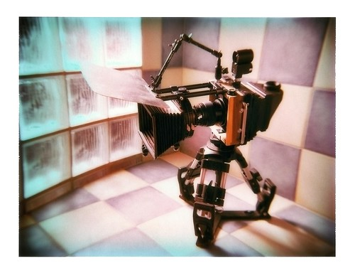 Large format camera by Imre Becsi