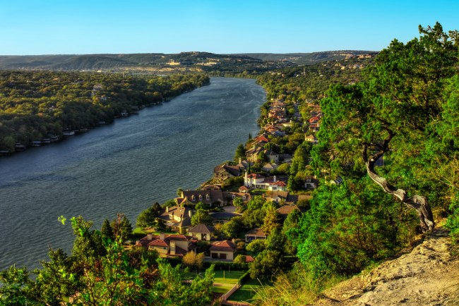 Mount Bonnell in Austin Texas