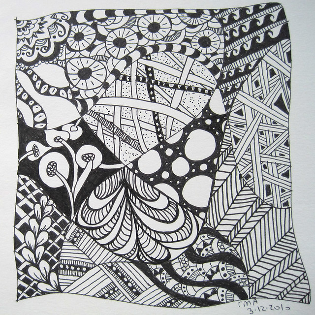 zentangle - circles