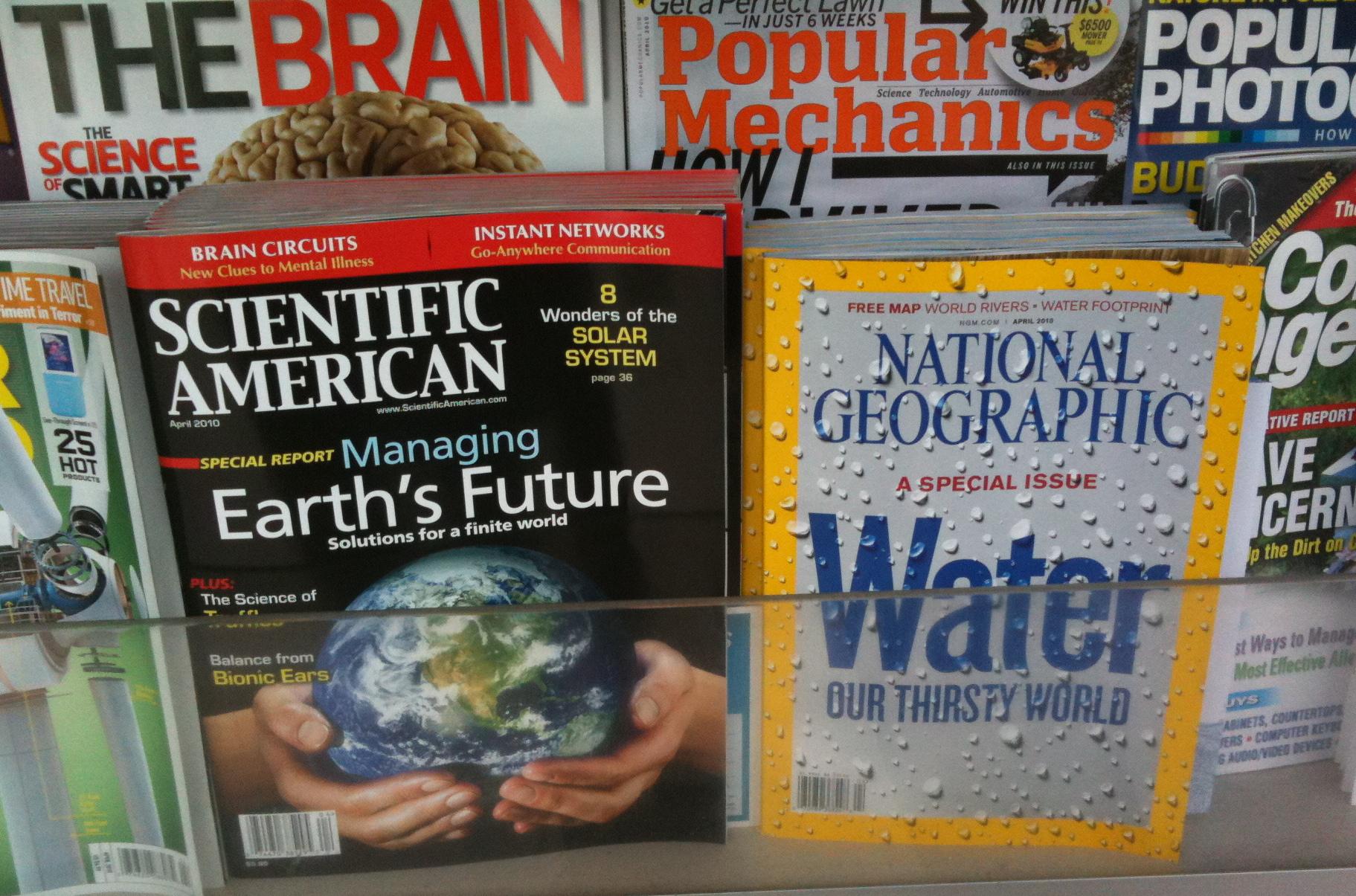 Scientific American Managing Earth's Future, National