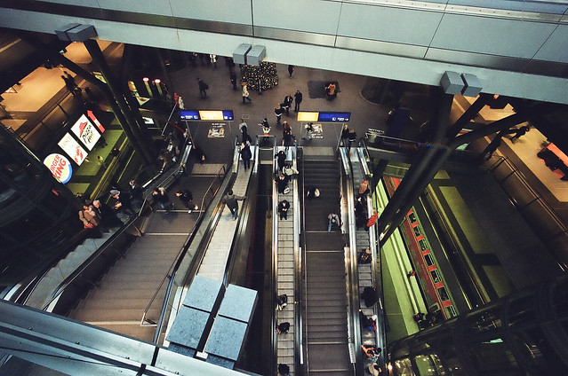 Hauptbahnhof Station, Berlin, 2009