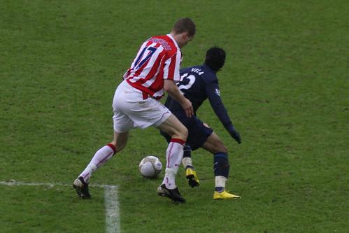 Stoke City FC V Arsenal 43