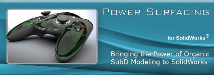 PowerSurfacing RE v2.2-3.1 for SolidWorks 2012-2017 64bit