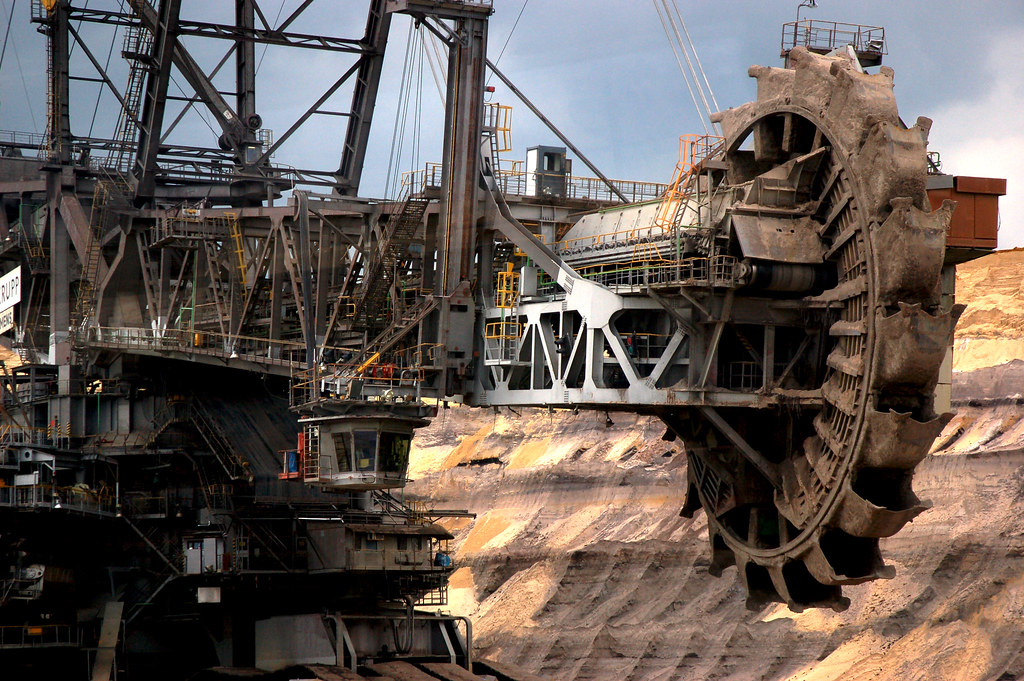 Biggest excavator in the world @ lignite mine Germany