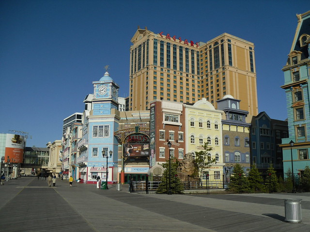 Atlantic City Boardwalk - New Jersey