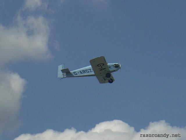 12 P1130844 Druine D.31 Turbulent {G-ARGZ}  _ City Airport - 2009 (4th July)