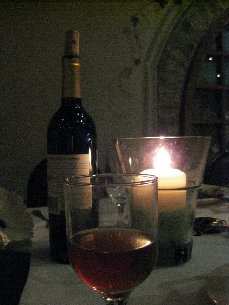 Candle & Wine 1