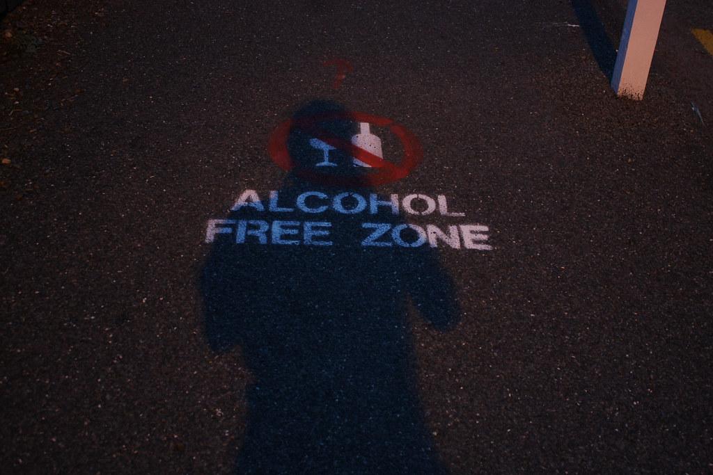 Free alcohol...