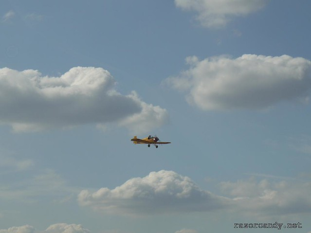 32 P1130879 Druine D.31 Turbulent  {G-ARBZ} _ City Airport - 2009 (4th July)