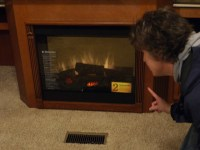 Fake RV Fireplace?!? | Flickr - Photo Sharing!