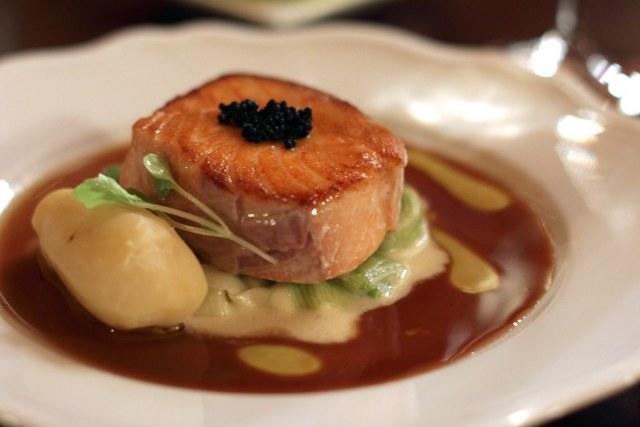 Seared Atlantic Salmon
