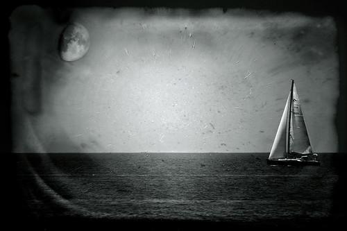 Variation sur un thème III: Promenade au clair de lune. by Sophie G.S.