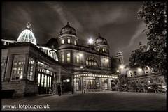 Buxton Edwardian Opera House At Dusk, Derbyshire, UK