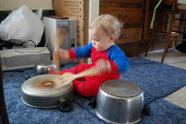 Victor Drumming