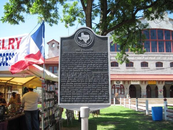 Coliseum Ft. Worth Texas Historical Marker 1908
