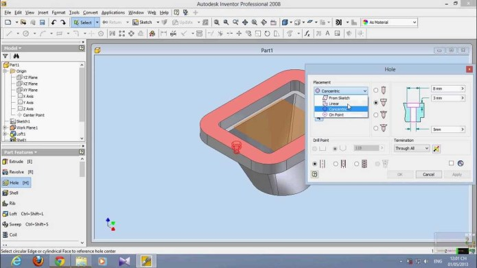 Design with Autodesk Inventor Pro 2008 full