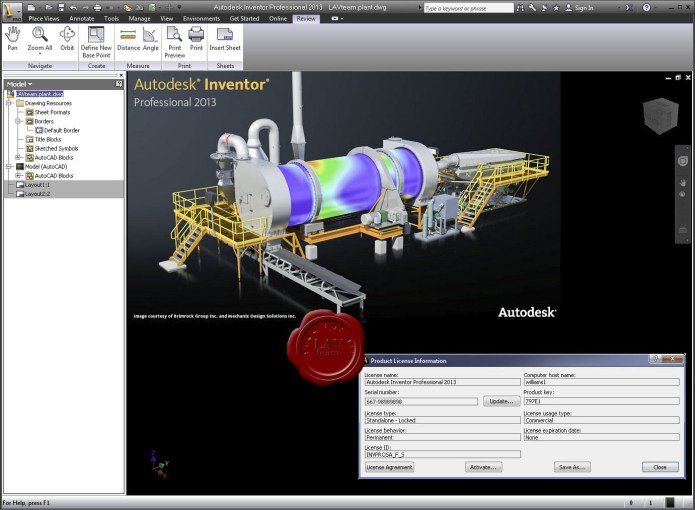 Autodesk Inventor Professional 2013 Service Pack 2
