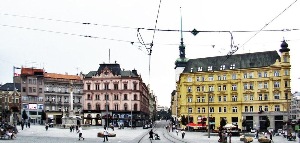 Plaza de la Libertad Brno Chequia 11