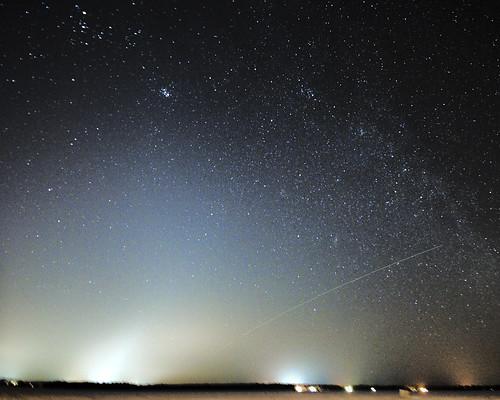 Zodiacal light Over Cumberland Beach