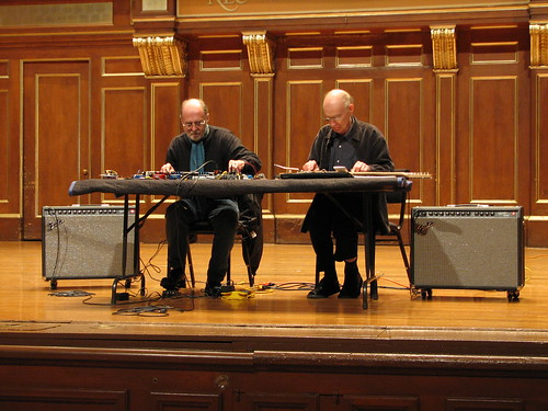 Christian Wolff at NEC Day 2: Keith Rowe & Christian Wolff 1