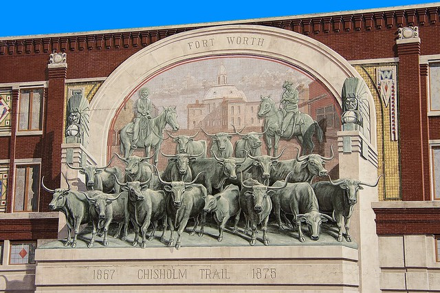 Fort Worth Chisholm Trail Mural  Flickr  Photo Sharing