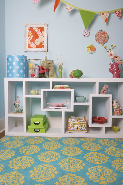 corner of craft room