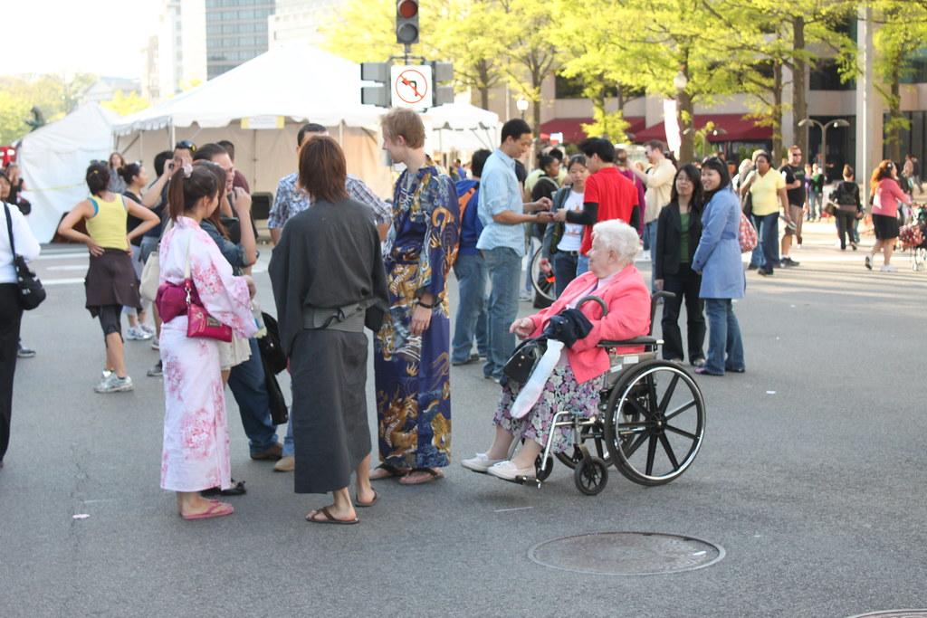 Kimonos of Sakura Matsuri  Theresa Irene Wolowski Ryan