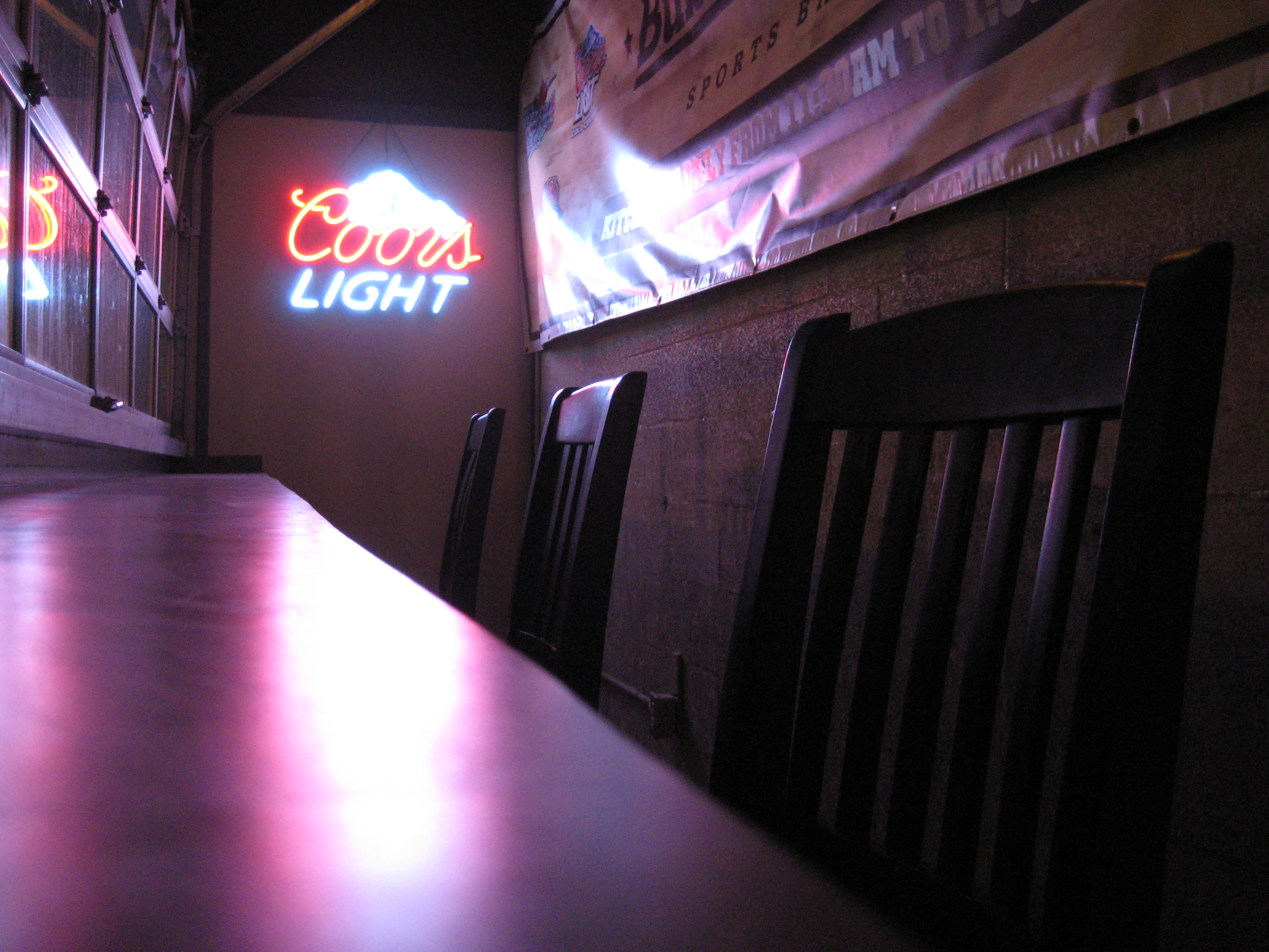 coors light chair 2x4 outdoor chairs and sign flickr photo sharing