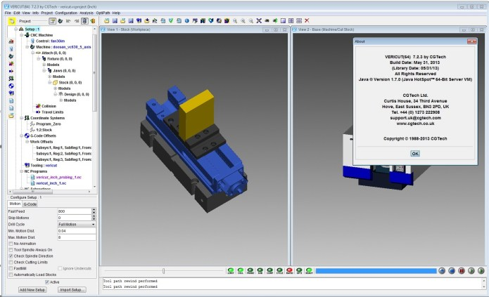 Machining with CGTech VERICUT v7.2.3 x86 x64 full license