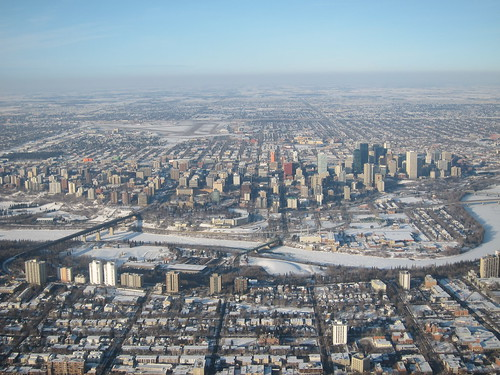 Edmonton from Above