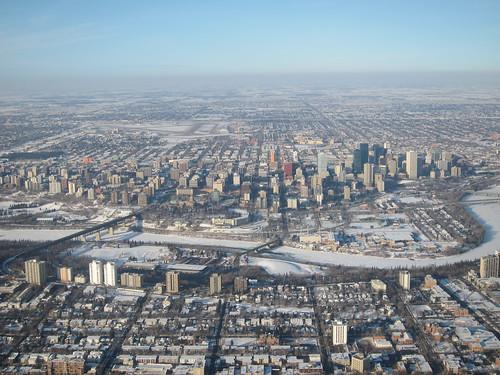 Edmonton from Above