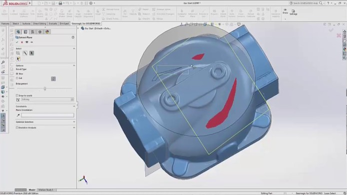 Working with Geomagic for SolidWorks 2017 full