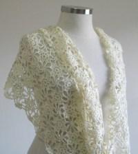 Pin Wedding Shawl Crochet Pattern on Pinterest