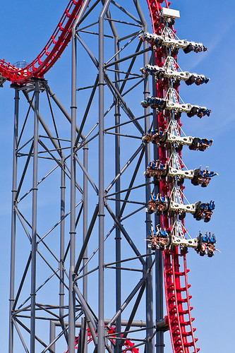 Coaster grotto has thousands of roller coaster pictures, statistics, ratings, reviews and top 10's. X2 Six Flags Logo
