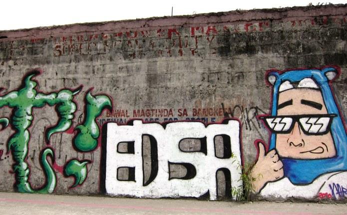 EDSA graffiti