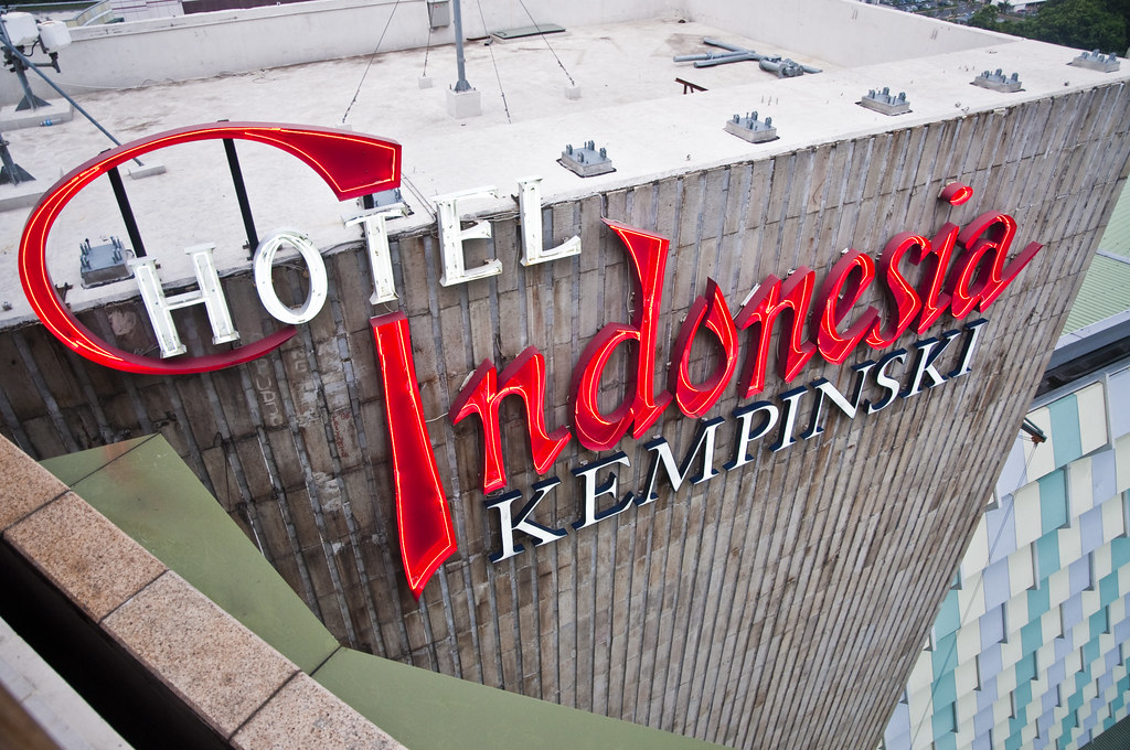 Hotel Indonesia Classic Logo A Wee Flickr