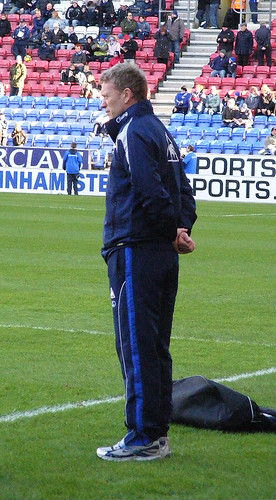David Moyes, Wigan Athletic v Everton, 30th January 2010