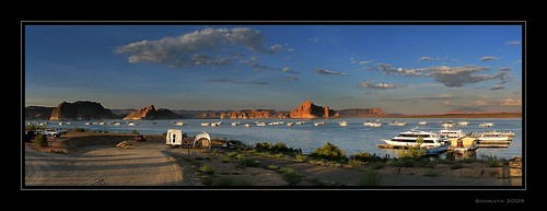 Lake Powell by Somnath Mukherjee Photoghaphy