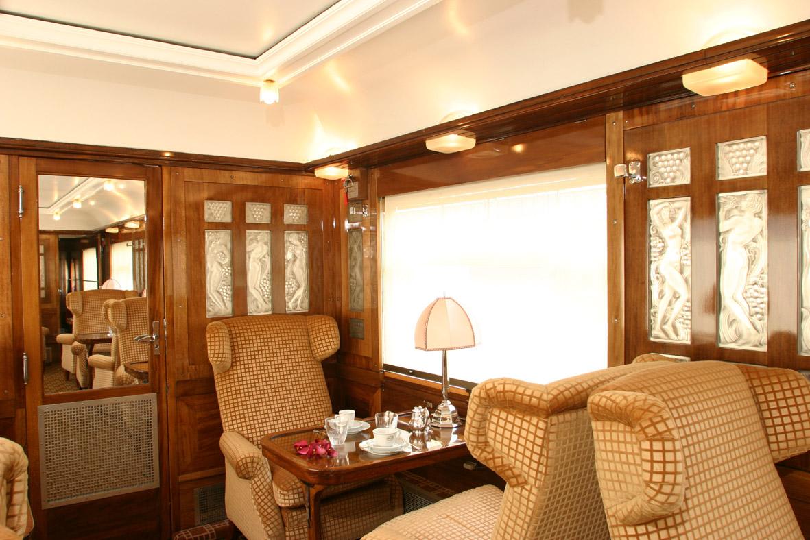 Pullman Orient Express  Fleche dOr interior  The