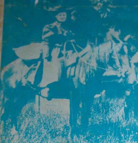 Back cover of Honeymoon on Horseback
