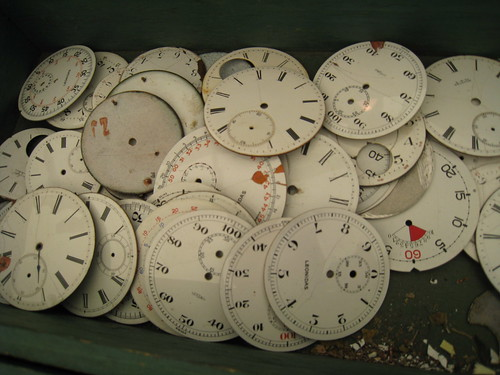 Old Clock Faces...
