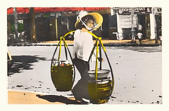 SAIGON, marchande ambulante