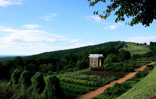 Jefferson's Vegetable Garden. Photo copyright Jen Baker/Liberty Images; all rights reserved. Pinning to this page is okay.