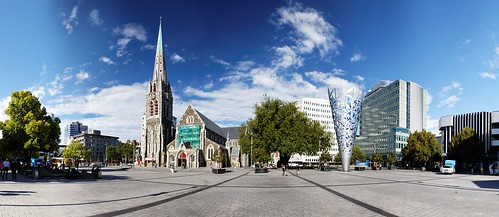 20100130-07-Christchurch Cathedral Square panorama