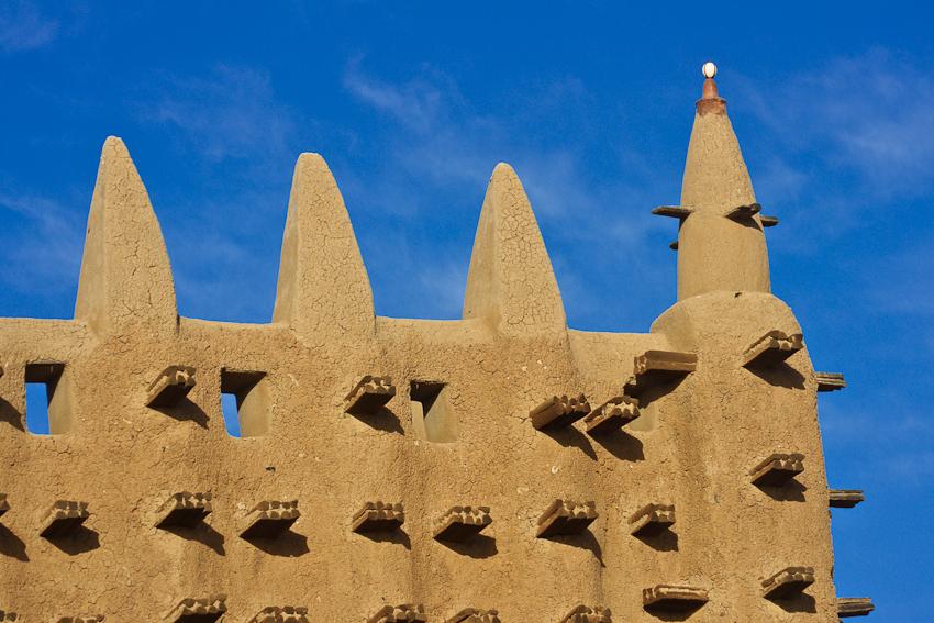 Ausschnitt der Moschee