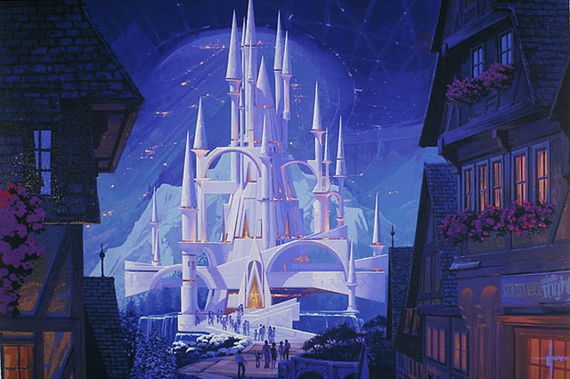 Future Castle Syd Mead Flickr Photo Sharing